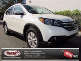2013 White Diamond Pearl Honda CR-V EX-L #74850584