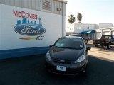 2013 Violet Gray Ford Fiesta S Sedan #74850635
