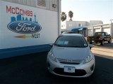 2013 Ingot Silver Ford Fiesta S Sedan #74850633