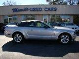 2007 Satin Silver Metallic Ford Mustang V6 Premium Convertible #74868684