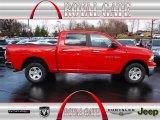 2012 Flame Red Dodge Ram 1500 SLT Crew Cab 4x4 #74879371
