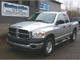 2008 Bright Silver Metallic Dodge Ram 1500 TRX4 Quad Cab 4x4 #74879558