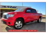2007 Radiant Red Toyota Tundra Limited CrewMax 4x4 #74879650