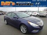 2013 Indigo Night Blue Hyundai Sonata SE #74879836