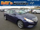 2013 Indigo Night Blue Hyundai Sonata Limited 2.0T #74879835