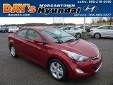 2013 Red Hyundai Elantra GLS #74879827