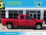 2012 Victory Red Chevrolet Silverado 1500 LT Extended Cab #74879450