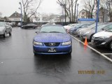 2003 True Blue Metallic Ford Mustang V6 Convertible #74879823