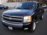 2007 Black Chevrolet Silverado 1500 LT Regular Cab 4x4 #74879327