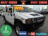 2003 White Hummer H2 SUV #74879814