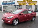 2013 Red Hyundai Elantra GLS #74879305