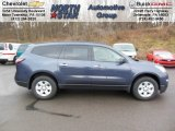 2013 Atlantis Blue Metallic Chevrolet Traverse LS AWD #74879520