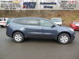2013 Atlantis Blue Metallic Chevrolet Traverse LS AWD #74879519