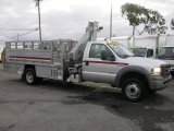 2005 Ford F550 Super Duty XL Regular Cab Utility Truck Data, Info and Specs