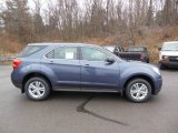 2013 Atlantis Blue Metallic Chevrolet Equinox LS AWD #74879497