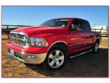 2009 Flame Red Dodge Ram 1500 Big Horn Edition Crew Cab #74879594