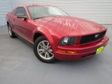 2005 Redfire Metallic Ford Mustang V6 Premium Coupe #74879583