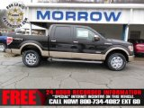 2013 Kodiak Brown Metallic Ford F150 Lariat SuperCrew 4x4 #74925140