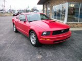 2007 Torch Red Ford Mustang V6 Premium Coupe #74925648