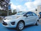 2013 Ingot Silver Ford Fiesta S Sedan #74925136