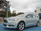 2013 Ice Storm Metallic Ford Fusion Hybrid SE #74925133