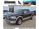 2011 Rugged Brown Pearl Dodge Ram 1500 Laramie Crew Cab #74925228