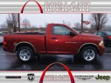 2012 Deep Cherry Red Crystal Pearl Dodge Ram 1500 ST Regular Cab 4x4 #74925019
