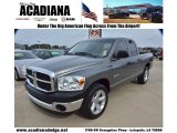 2008 Mineral Gray Metallic Dodge Ram 1500 ST Quad Cab #74925220