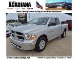 2011 Bright Silver Metallic Dodge Ram 1500 SLT Quad Cab #74925218