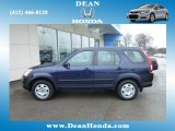 2006 Honda CR-V Royal Blue Pearl