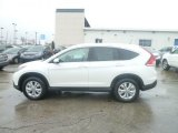 2013 White Diamond Pearl Honda CR-V EX-L AWD #74925506