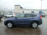 2013 Twilight Blue Metallic Honda CR-V EX AWD #74925503