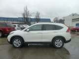 2013 White Diamond Pearl Honda CR-V EX-L AWD #74925502