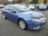 2010 Sport Blue Metallic Ford Fusion SEL V6 AWD #74925500