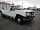 2006 Summit White Chevrolet Silverado 3500 LT Crew Cab 4x4 Dually #74925410