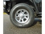 2003 Hummer H2 SUV Custom Wheels