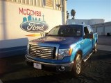 2010 Blue Flame Metallic Ford F150 XLT SuperCrew #74925078