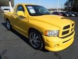 2004 Solar Yellow Dodge Ram 1500 SLT Rumble Bee Regular Cab #74925473