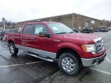 2013 Ruby Red Metallic Ford F150 XLT SuperCrew 4x4 #74925161