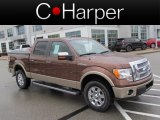 2012 Golden Bronze Metallic Ford F150 Lariat SuperCrew 4x4 #74924973