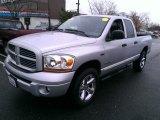 2006 Bright Silver Metallic Dodge Ram 1500 Sport Quad Cab 4x4 #74925273