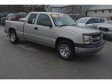 2005 Silver Birch Metallic Chevrolet Silverado 1500 LS Extended Cab #74925466