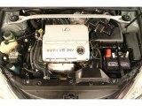 2003 Lexus ES 300 3.0 Liter DOHC 24 Valve VVT-i V6 Engine