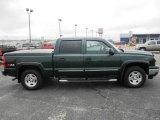 2006 Dark Green Metallic Chevrolet Silverado 1500 Z71 Crew Cab 4x4 #74925559