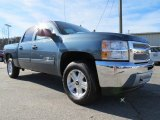 2013 Blue Granite Metallic Chevrolet Silverado 1500 LT Crew Cab #74973394