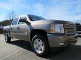 2013 Graystone Metallic Chevrolet Silverado 1500 LT Crew Cab #74973392