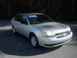 2005 Galaxy Silver Metallic Chevrolet Malibu LS V6 Sedan #74973610