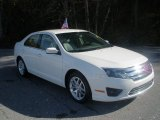 2010 White Suede Ford Fusion SEL #74973609