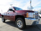2013 Deep Ruby Metallic Chevrolet Silverado 1500 LS Regular Cab #74973387