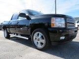 2013 Black Chevrolet Silverado 1500 LTZ Crew Cab 4x4 #74973386